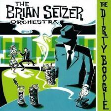 BRIAN SETZER ORCHESTRA-THE DIRTY BOOGIE CD 13 TRACKS ROCKABILLY/ROCK'N'ROLL NEW!