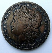 1889 O XF NICELY TONED MORGAN DOLLAR, FREE SHIPPING USA