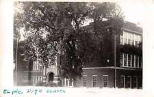 Clyde Kansas High School Real Photo Antique Postcard J60373