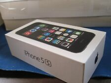 Apple  iPhone 5 S  gray   empty box only
