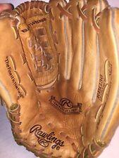 "100% MINT Rawlings RBG36 12.5"" Baseball Softball Glove Right Hand Throw (w)strap"
