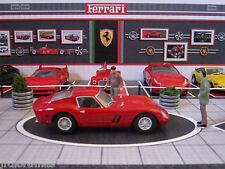"""DIORAMA 1/43 """"MUSEO FERRARI"""" Mod.2 (Especial vitrinas, válido Billy Ikea)"""