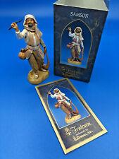 "2001 Fontanini Heirloom Nativity Figure Samson ""Caravan Leader"" 5"" Scale #72573"