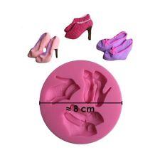 Moule silicone 3D Talons pour pâte à sucre, cake design, décoration gateau...