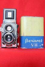 FLEXARET VIIa,Meopta,TWIN lens TLR,Czechoslovakia,CLAd-last version PRONTOR SVS
