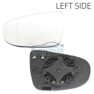 Left passenger side wing mirror glass for VW Golf MK6 Touran 2009-2012 heated