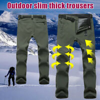WOMEN Mens Thick Thermal Trousers Waterproof Tactical Outdoor Casual Work Pants