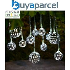 16x Noma Parasol Umbrella Silhouette String Garden Lantern Lights 3917005 LED