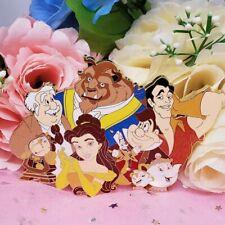 Jumbo Belle Beauty and the Beast Disney Fantasy Pin - Le 75 Glitter Pin