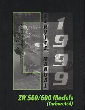 1999 ARCTIC CAT SNOWMOBILE ZR 500/600 (CARBURETED) SERVICE MANUAL (914)