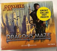 Magic The Gathering Dragons Maze Fat Bundle Pack For Card Game CCG MTG