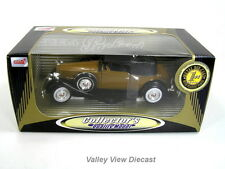 ANSON 1:32 1934 PACKARD LEBARON - BROWN - NEW IN BOX