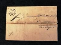 Vorphilatelie Altdeutschland 1829 - Brief Faltbrief  Aachen     Nr.13