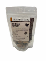 Live Pawsitively Chicken Medley freeze dried Dog and Cat treat 4oz made in USA