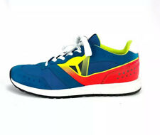 DAINESE Casual Neon Orange Blue Multi Color Shoes 7.5 Motorcycle Biker Sneaker