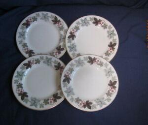 ROYAL DOULTON CAMELOT TC1016  4 X TEA SIDE PLATES 16½CM