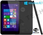 "Linx 7 Intel Atom Z3735F 32GB SSD Windows 8.1 7"" Tablet IPS HD + Windows 10"