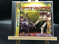 Battle Monsters w/spine (Sega Saturn, 1996) from japan