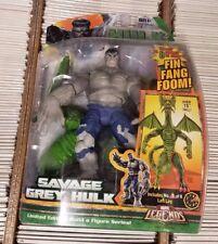 Marvel Legends - Savage Grey Hulk (Fin Fang Foom BAF) NEW IN BOX