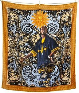 KEHINDE WILEY, 'Andries Stilte', 2008 HUGE Beach Towel S/O Limited Edition *NEW*