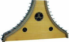 More details for atlas plucked psaltery, 22 string, spruce top, walnut back and sides.