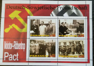 paraguay 2013 dictators Hitler Stalin pact Molotov Ribbentrop Poland WW2 block