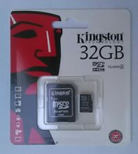 New Kingston Class 4  32GB microSDHC Memory  Card.