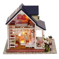 DIY Children Cabin Doll House Model Houses 3D Home Decor Children Birthday Gifts