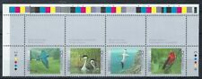 CANADA 1997 - BIRDS (2nd SERIES) - STRIP OF 4 PLUS WIDE MARGIN ON 3 SIDES - MNH