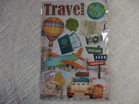 CREApop Sticker - 3D Sticker Papier - Reise - Urlaub - Travel