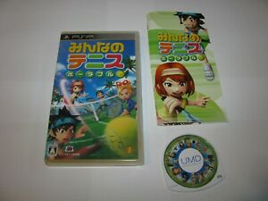 Minna no Tennis Portable Playstation Portable PSP Japan import US Seller
