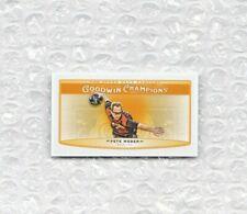 Pete Weber Mini 2019 Upper Deck Goodwin Champions Trading Card Single Parallel