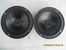 "PAIR  POLK  6 1/2"" MW6503  WOOFERS  (LOCKED UP) FOR REPAIR ONLY"