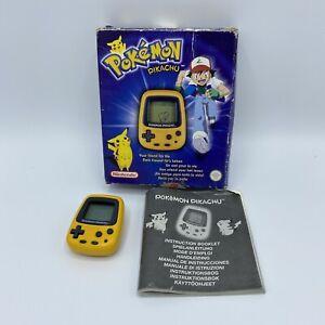 Pokemon Pikachu Mini - Used - Missing Back Cover - Untested