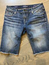 Women's Vigoss Bermuda Denim Shorts, Size 28, EUC