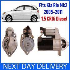 FITS KIA RIO MK2 (JB)  2005-2011 1.5 CRDi TD DIESEL BRAND NEW STARTER MOTOR