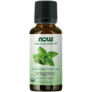 NOW Foods Oregano Oil, Organic, 1 oz. FREE SHIPPING. MADE IN USA. FRESH.
