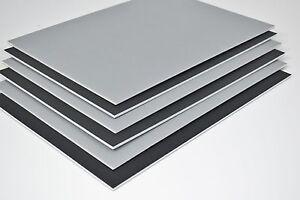 5mm Carton mousse A3 Noir/Gris 10 feuilles art afficher présenter monter modeler