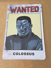 Marvel Heroclix Colossus Wanted ID Card Bounty Month 2 DOFP