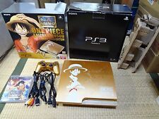 Sony PS3 Limited One Piece Gold Slim 320GB Console CECH-3000B Console system