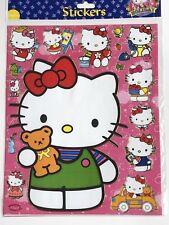 Disney Princess & Co Hello Kitty 12 X A4 Hojas De Pegatinas Lámina de brillantes #4