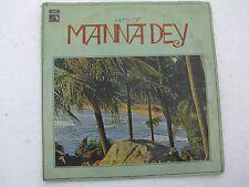 Hist of Manna Dey ECLP 2518 Bengali LP Record India NM-1425
