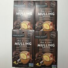Urban Accents Wine & Cider Mulling Spices Lot 4 - 1.25 oz Free Ship