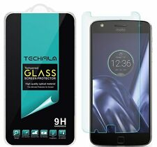 TechFilm® Tempered Glass Screen Protector Saver Shield For Motorola Moto Z Play