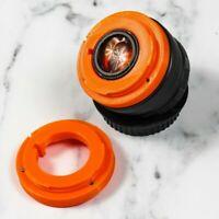 📹 Permanent HELIOS 44 M 2/58 lens Canon EF Mount NOT ADAPTER CINE BOKEH