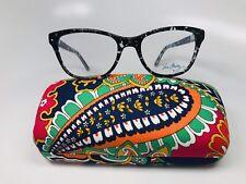 9b19b2fb1e New Authentic Vera Bradley Emerson Blue Bayou Eyeglasses 53mm with Case