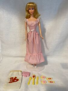 VINTAGE Blonde 1974 SWEET SIXTEEN BARBIE Doll With Accessories