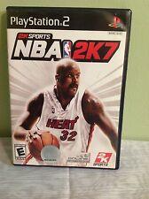 """Sony Play Station 2 PS2 """"NBA 2K7""""  2006 (E)"""
