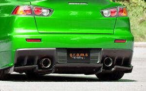 Varis Style Rear Diffuser / Undertray for Mitsubishi Lancer Evo X v8