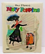 Walt Disney Productions Auth. Magic Of Mary Poppins Vintage 1964 Pillow Book